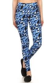 New Mix Geometric Print Pant - Product Mini Image