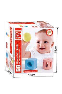 Hape Geometric Rattle - Alternate List Image