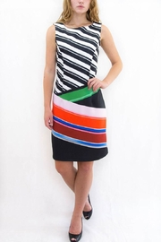 Isle Apparel Geometric Shift Dress - Product Mini Image