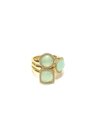 Marcia Moran Geometric Statement Ring - Product Mini Image