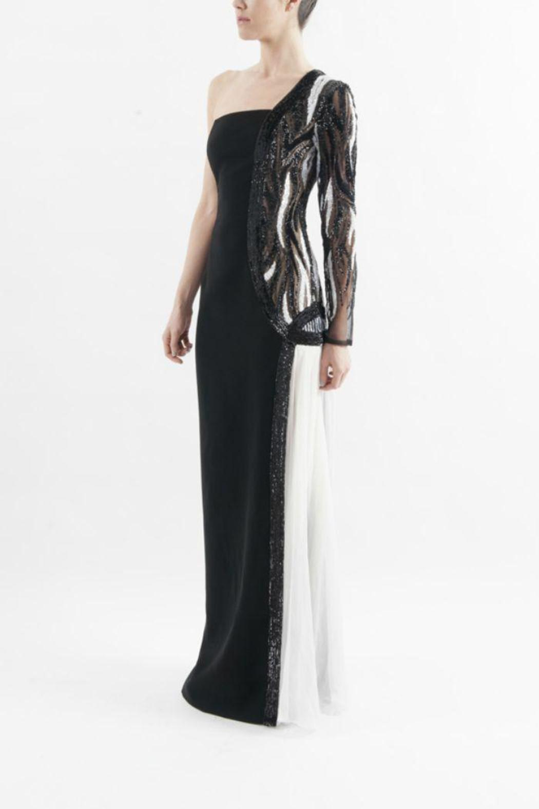 George chakra george chakra gown from new york by runway for Georges chakra gold wedding dress price