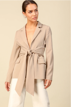 Line & Dot Georgette Blazer - Product List Image