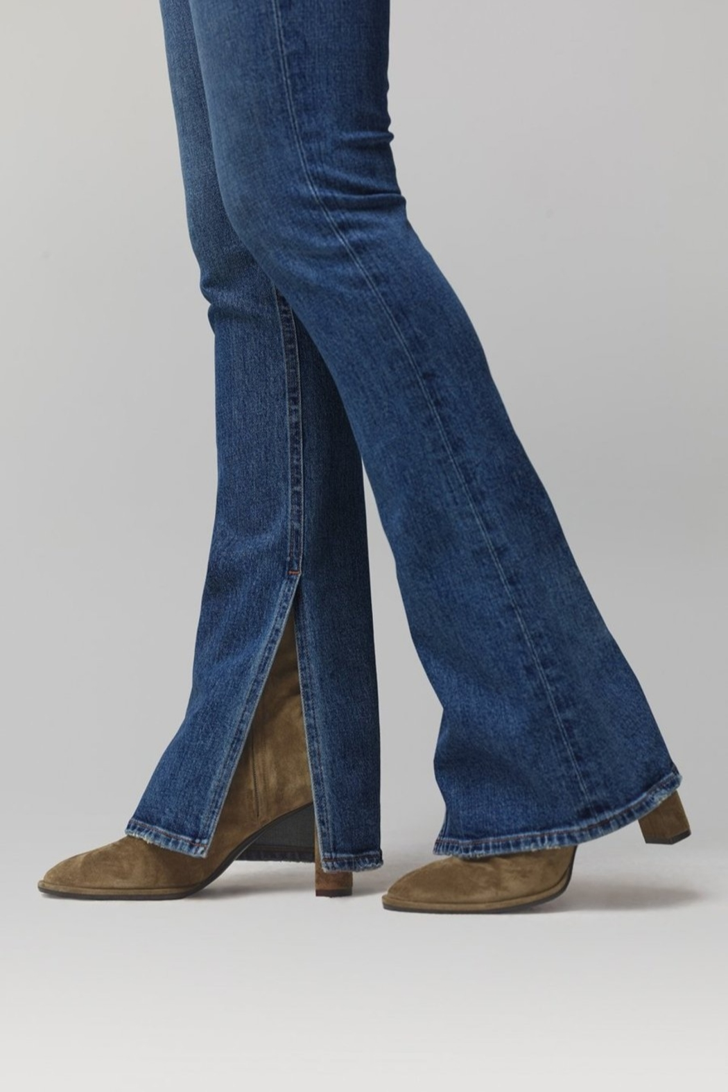 Citizens of Humanity Georgia Flare Jeans in Heist - Back Cropped Image
