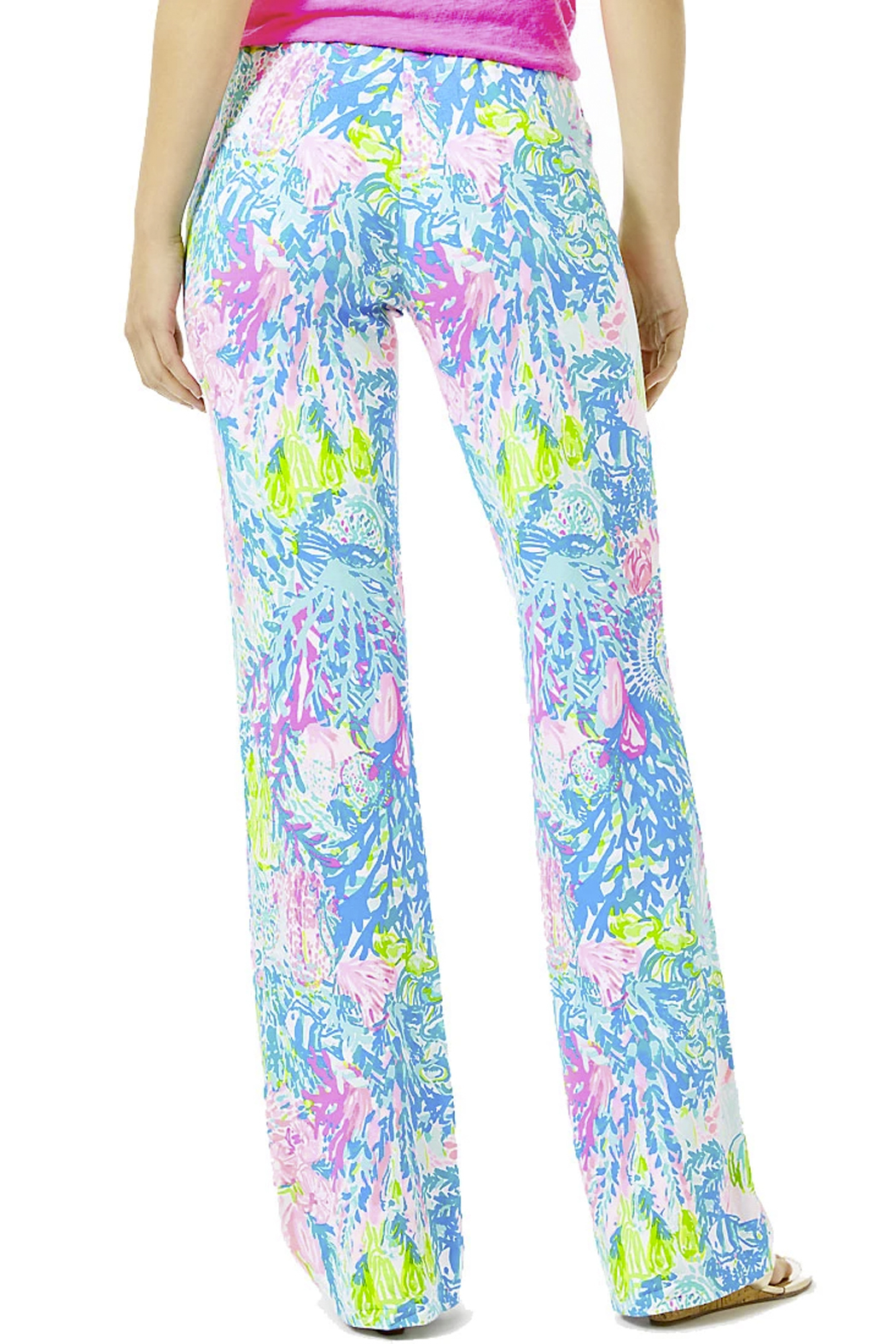 Lilly Pulitzer  Georgia May Palazzo Pants - Side Cropped Image