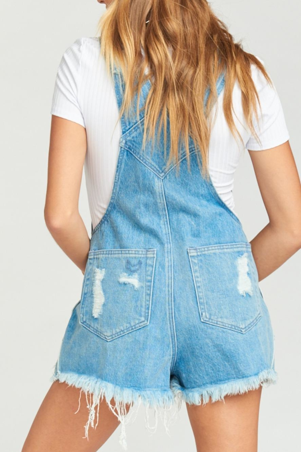 Show Me Your Mumu Georgia Overalls - Side Cropped Image