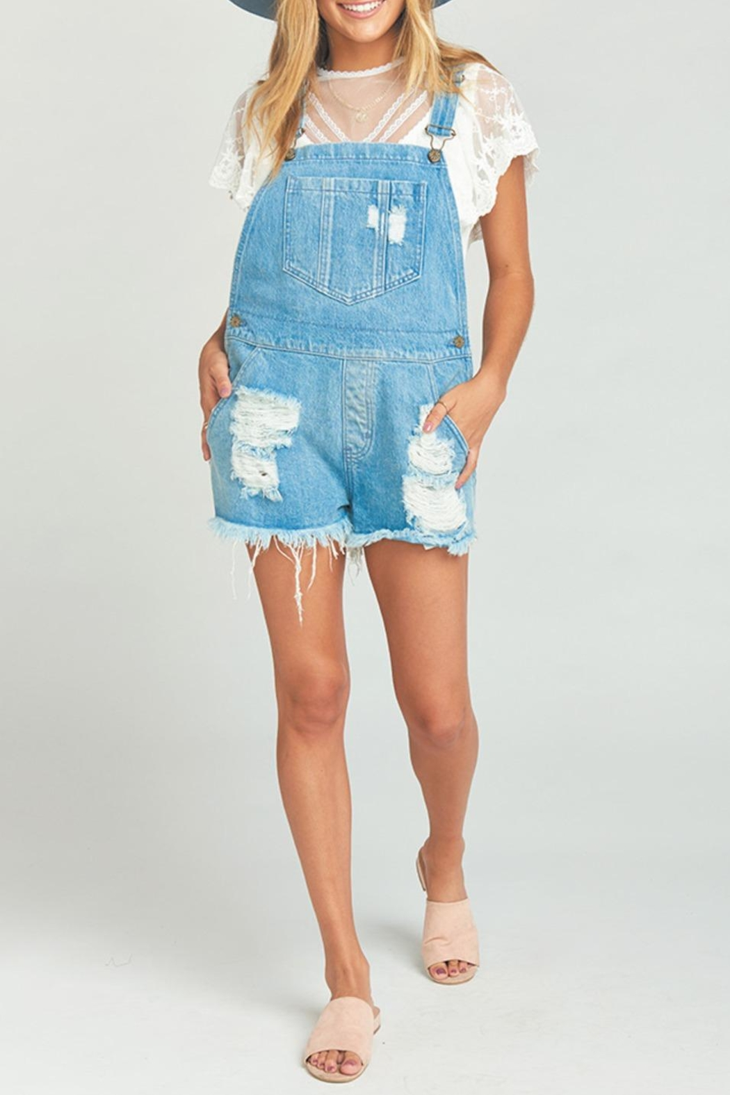 Show Me Your Mumu Georgia Overalls - Back Cropped Image