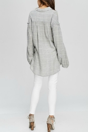 Wishlist Georgia Plaid Top - Front full body