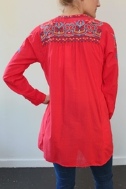 Biya by Johnny Was Georgina Cotton Tunic - Front full body