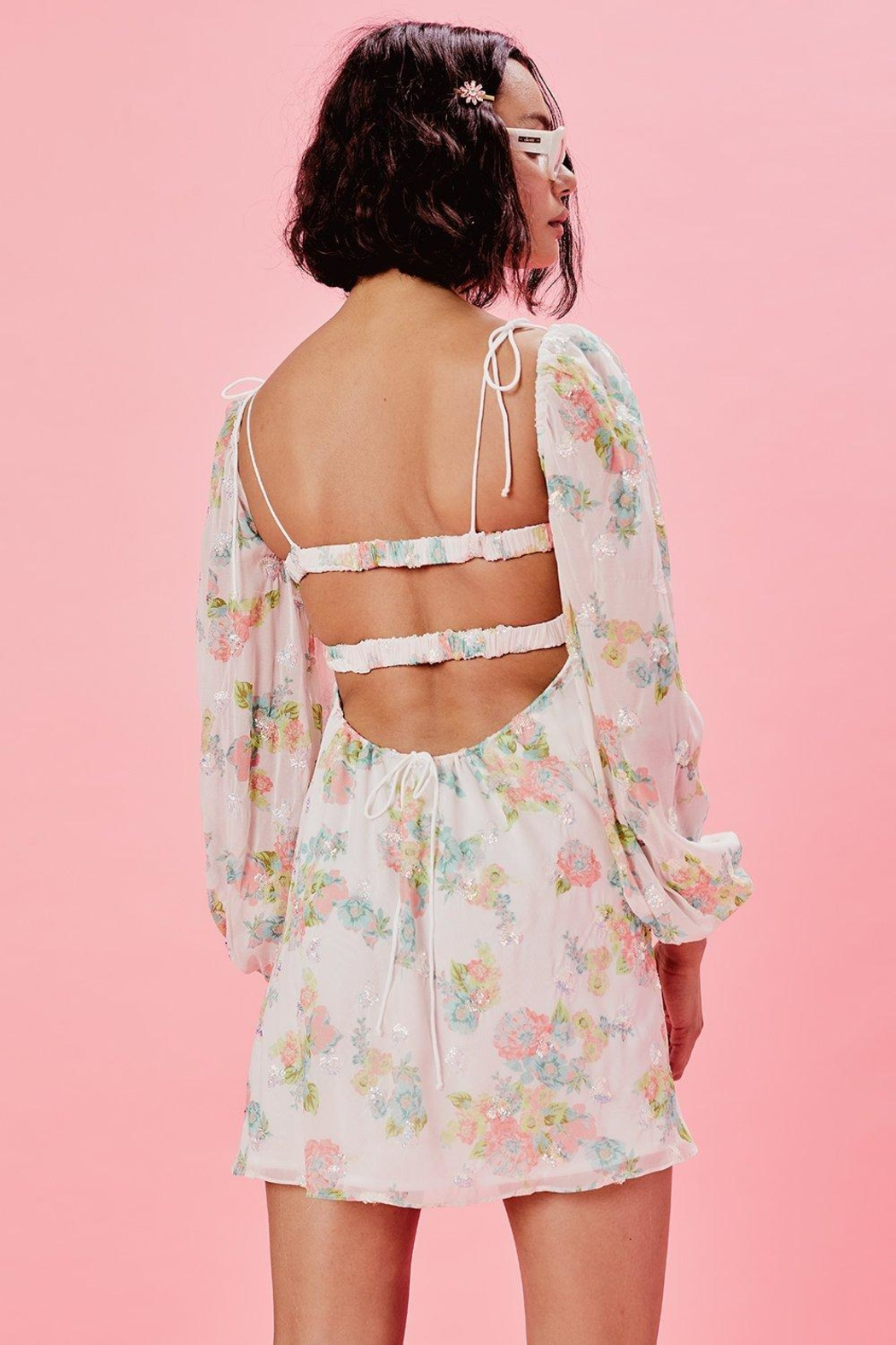 FOR LOVE & LEMONS Georgina Swing Dress - Back Cropped Image
