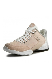 Geox respira Pink Leather Sneaker - Product Mini Image
