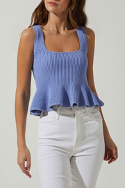 ASTR the Label Geraldine Sweater Tank - Front cropped
