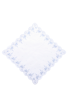 Shoptiques Product: Blue Floral Handkerchief