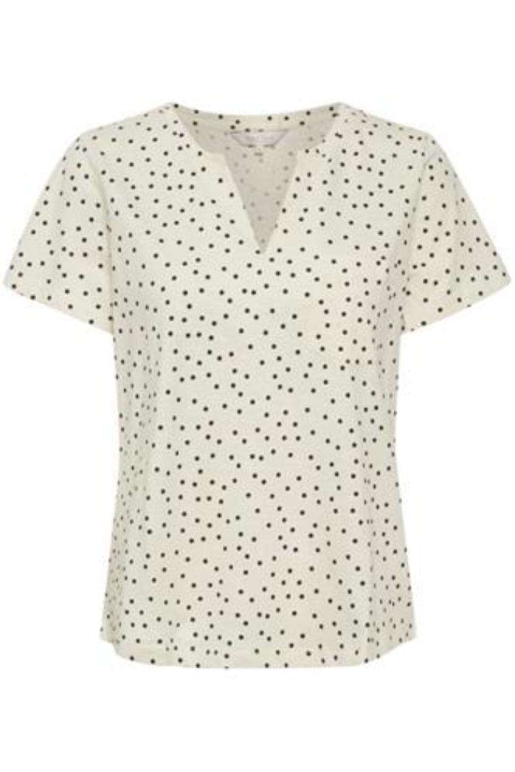 Part Two Gesina Dotted Tee - Main Image