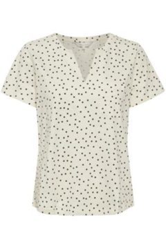 Part Two Gesina Dotted Tee - Alternate List Image