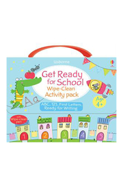 Usborne Get Ready For School Wipe-Clean Activity Book - Product Mini Image