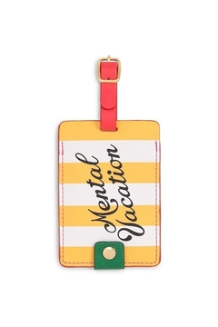 Shoptiques Product: Getaway Luggage Tag - Mental Vacation