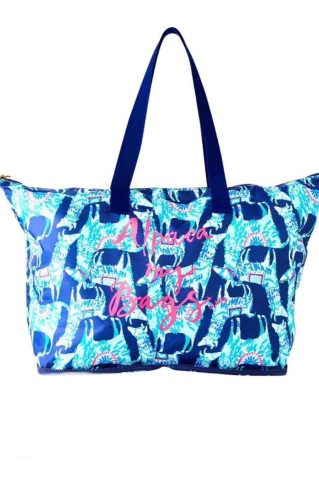 Lilly Pulitzer Getaway Packable Tote - Main Image
