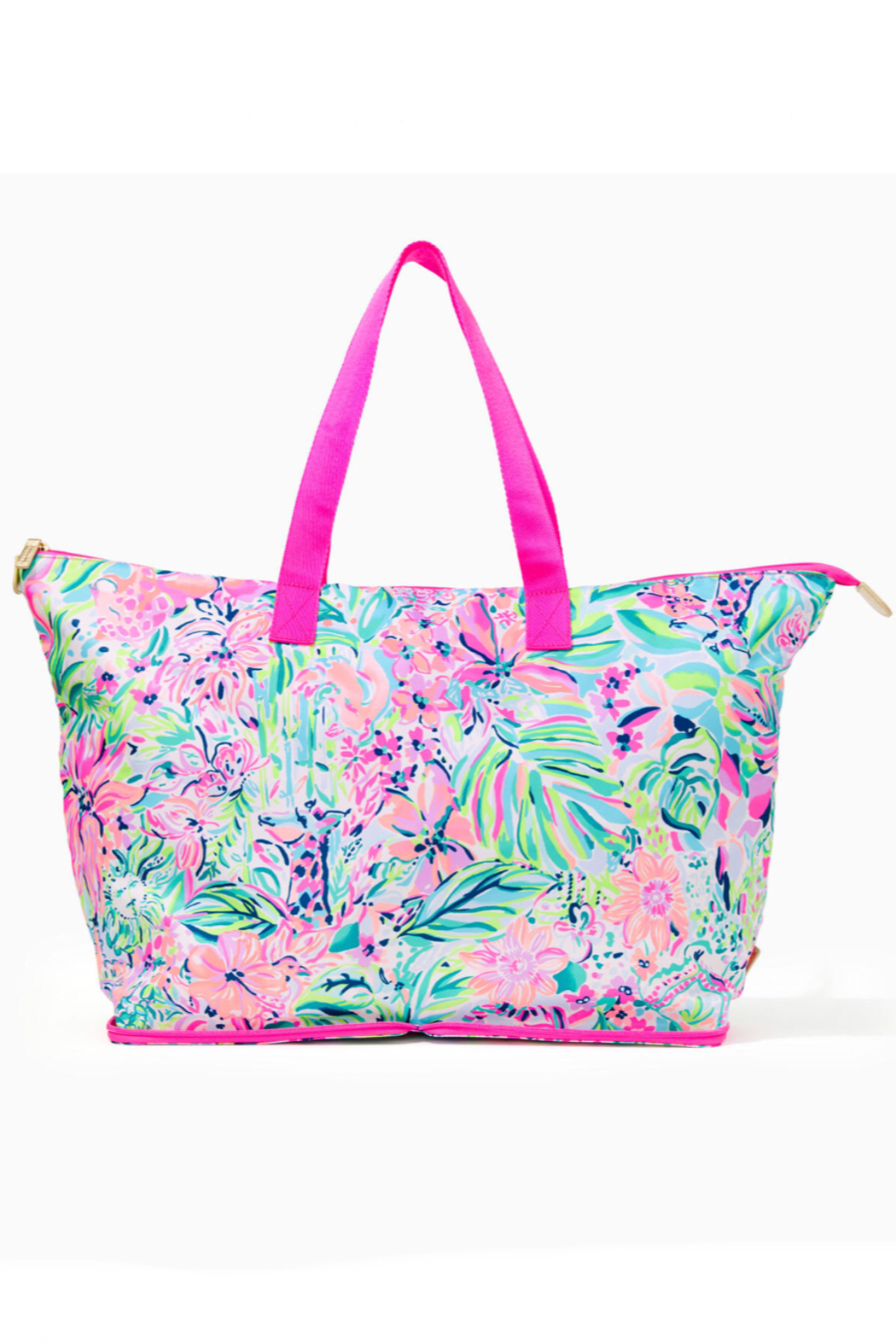 Lilly Pulitzer Getaway Packable Tote - Front Cropped Image
