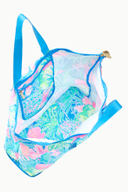 Lilly Pulitzer Getaway Packable Tote - Front full body