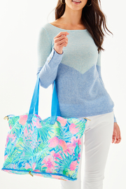 Lilly Pulitzer Getaway Packable Tote - Back cropped