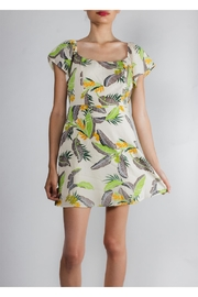 Emory Park Getaway Tropical Mini-Dress - Product Mini Image