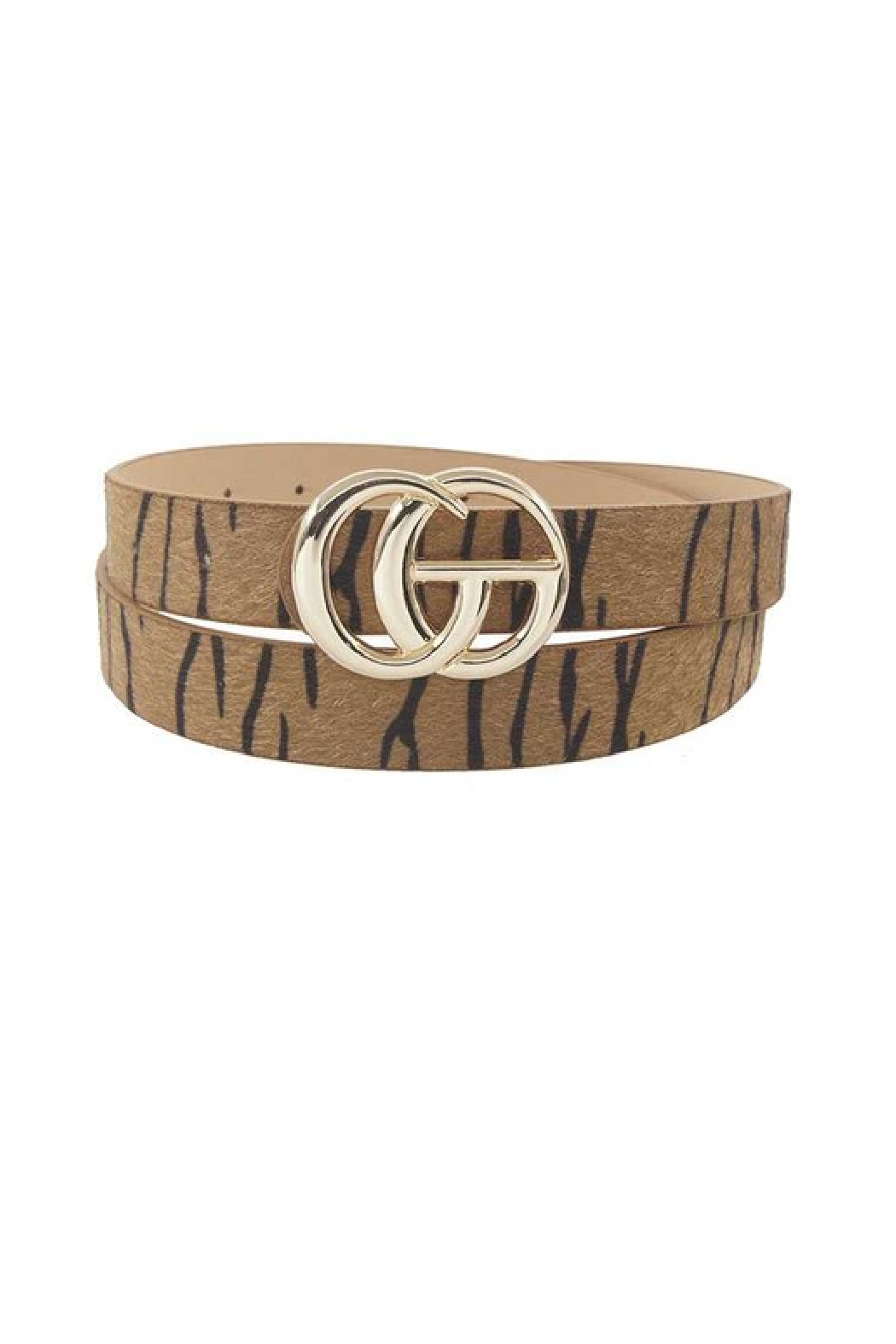 Susan Ankerson GG Buckle Belt - Front Cropped Image