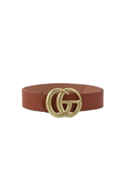 Illord GG Inspired Belt - Front cropped