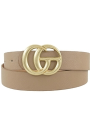 ICCO GG Inspired Belt - Front cropped