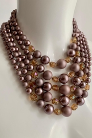 GHome2 1950's 5 Strand Necklace - Front cropped