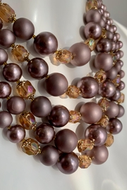 GHome2 1950's 5 Strand Necklace - Back cropped