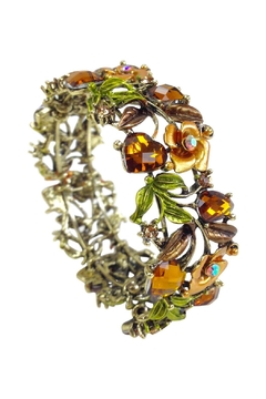 GHome2 Amber Crystal Cuff - Product List Image