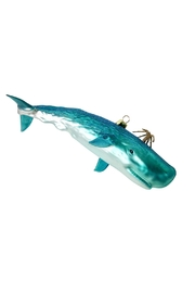 GHome2 Aqua Whale Ornament - Front cropped