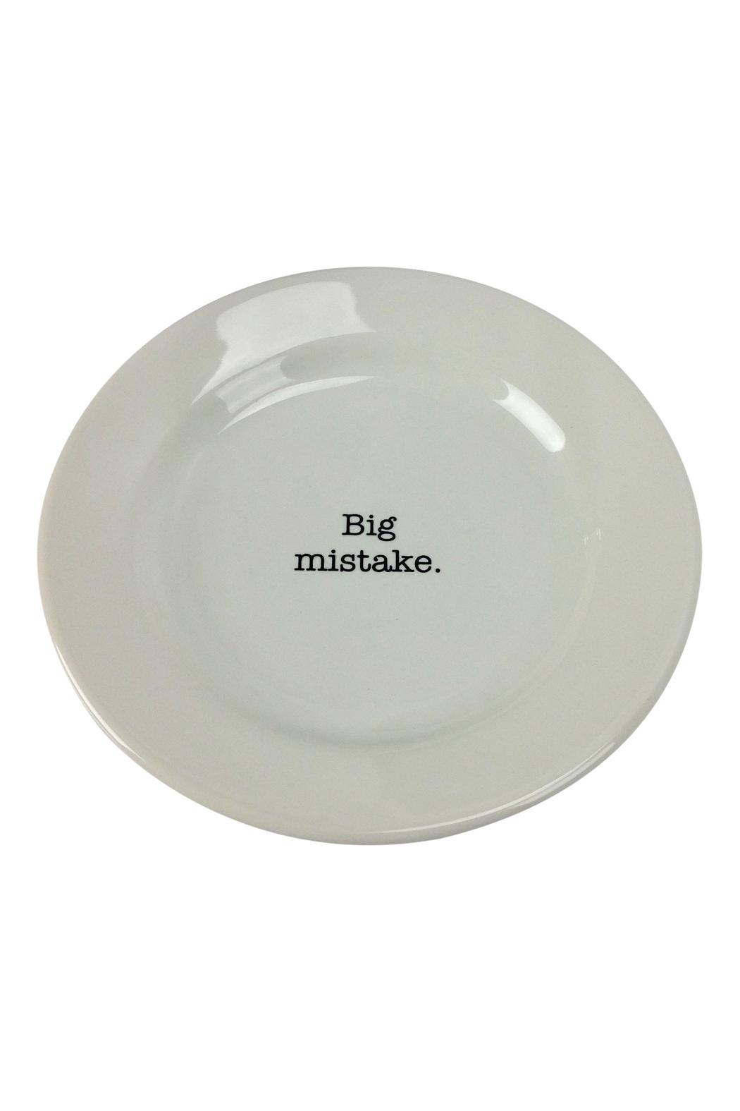 GHome2 Big Mistake Plate - Front Cropped Image