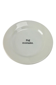 GHome2 Big Mistake Plate - Front cropped