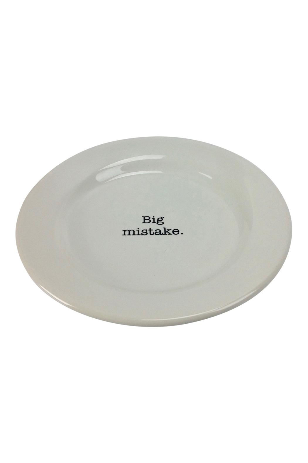GHome2 Big Mistake Plate - Front Full Image