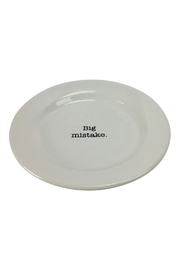 GHome2 Big Mistake Plate - Front full body