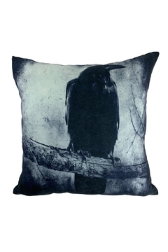 GHome2 Black Crow Pillow - Product List Image
