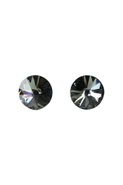 GHome2 Black-Diamond Swarovski Earrings - Product Mini Image