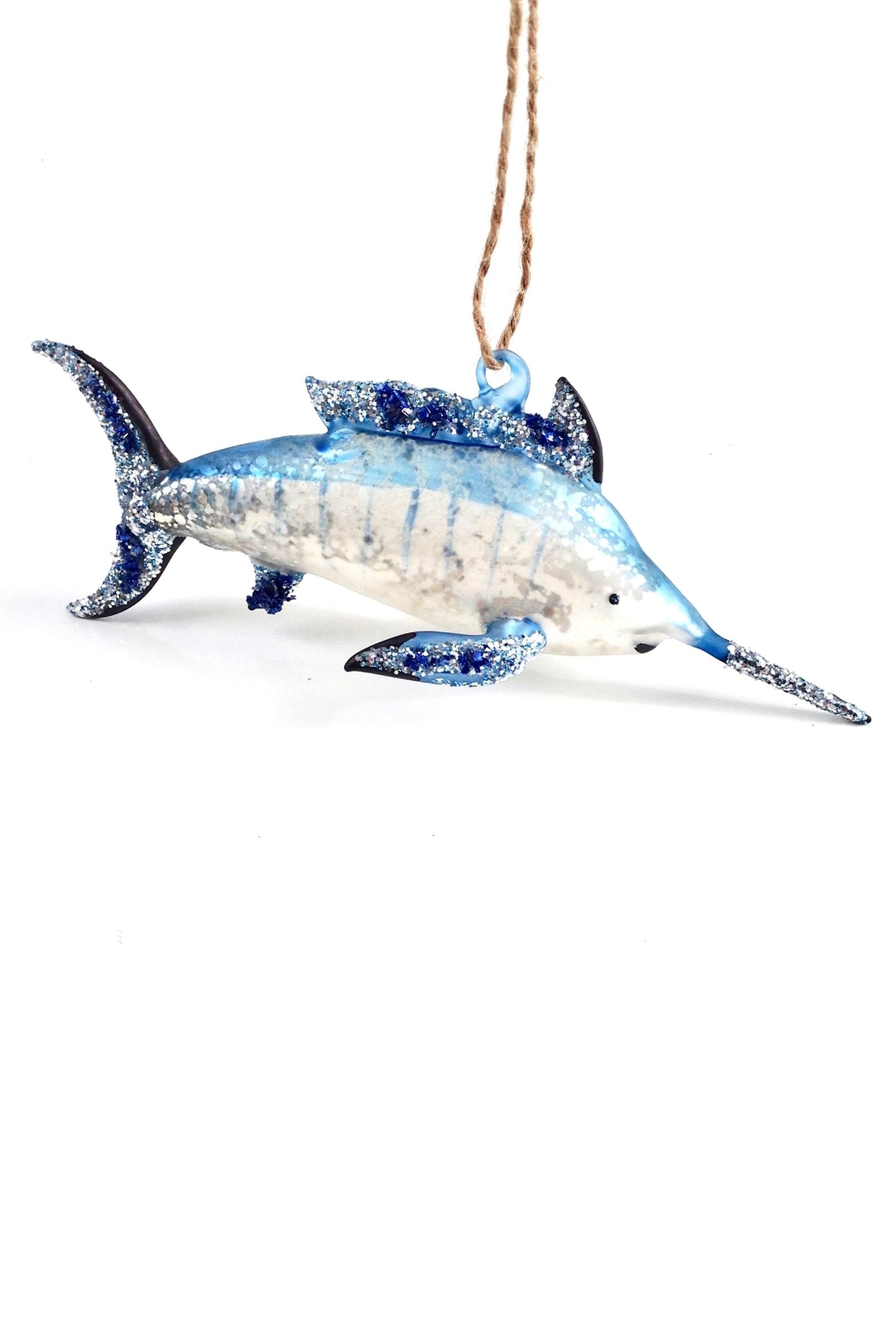 GHome2 Blue Marlin Ornament - Front Full Image