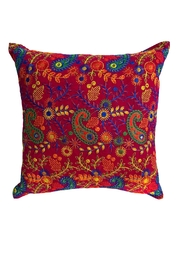 GHome2 Boho-Moroccan Cranberry Pillow - Product Mini Image