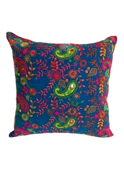 GHome2 Boho-Moroccan Blue Pillow - Product Mini Image