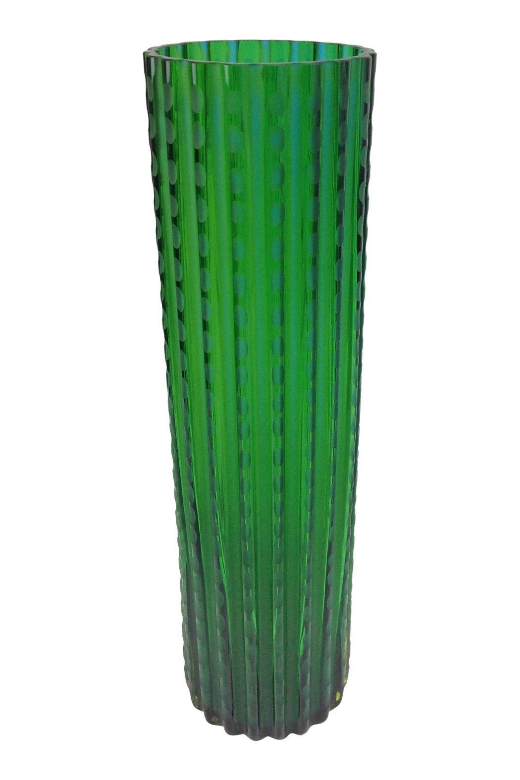 GHome2 Chiseled Glass Vase - Main Image