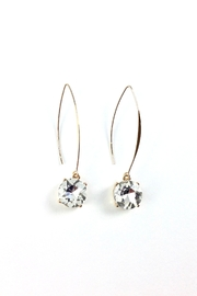 GHome2 Clear Swarovski Earrings - Product Mini Image