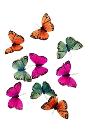 GHome2 Colorful Butterfly Garland - Front cropped