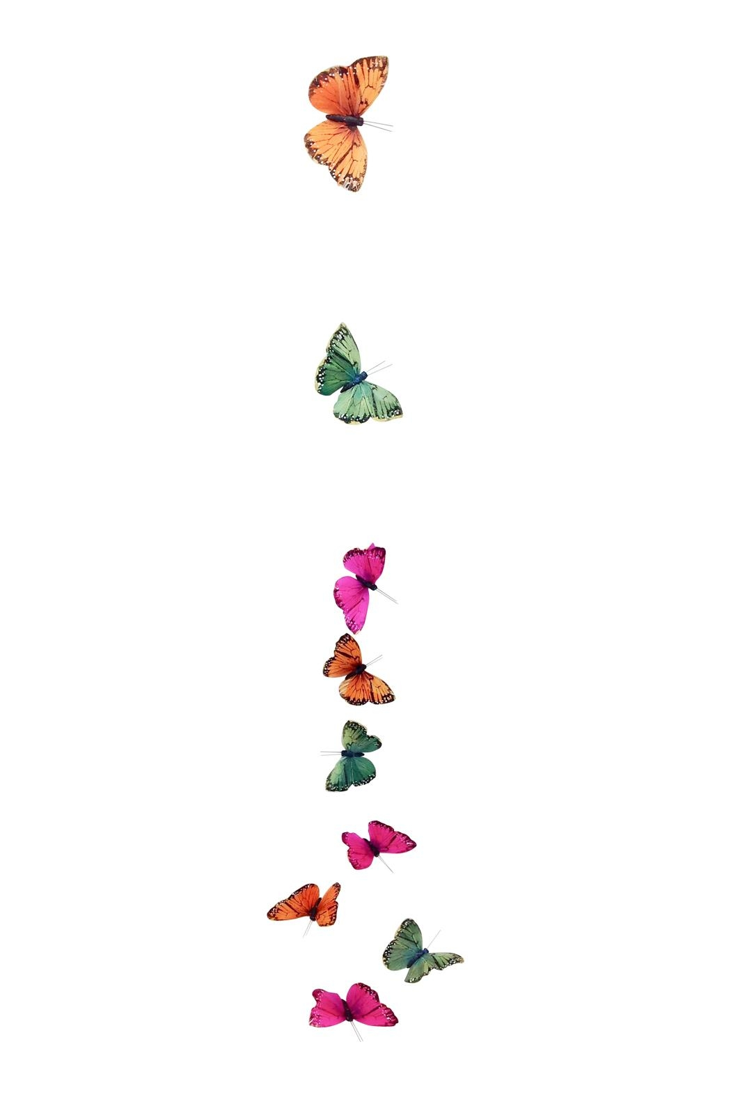 GHome2 Colorful Butterfly Garland - Front Full Image