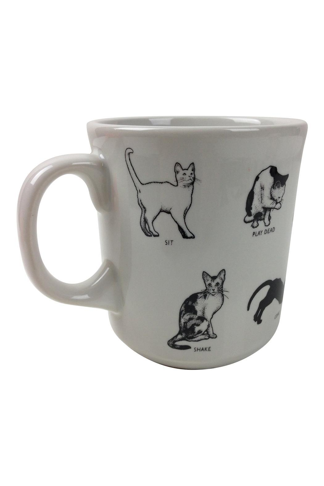 GHome2 Crazy Cat Mug - Front Cropped Image