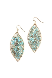 GHome2 Crystal Hand-Wired Earrings - Side cropped