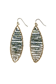 GHome2 Crystal Hand-Wired Earrings - Front cropped