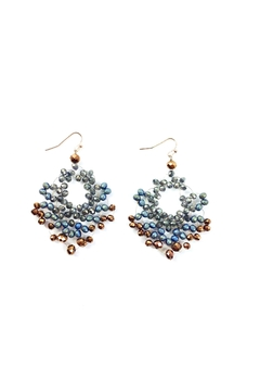 Shoptiques Product: Crystal Hand Wired Earrings