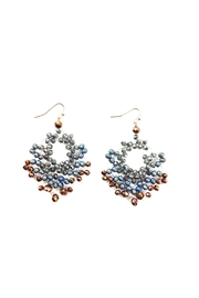 GHome2 Crystal Hand Wired Earrings - Front full body
